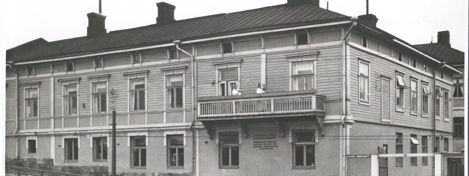 Mannerheimin Lastensuojeluliitto Lastenhoito
