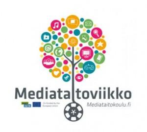 Mediataitoviikon logo.