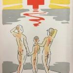 Terveys on kaikki kaikessa -julkaisu oli SPR:n ja MLL:n yhteisponnistus. Kuvituksen laati Mollie Faustman.