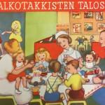 Aili Klamin kirjoittama ja Inkeri Lapintien kuvittama Valkotakkisten talossa oli pieni kuvakirja lapsille, jotka joutuivat sairaalaan.