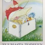 Puuhakirjat ja väritystehtävät kiinnostavat lapsia aina. 1990-luvun alussa MLL julkaisi perheille ilmaisia puuhakirjoja.
