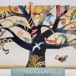 Värikkäät kuvitukset ja lapsille suunnattu taide näkyivät liiton kampanjajulisteissa. Ympäristö-kampanjaa kuvitti taiteilija Hannu Tainan sadunomainen teos.