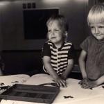 Lasten kuulonhuoltotyö oli tärkeä osa MLL:n toimintaa 1950-luvulla.