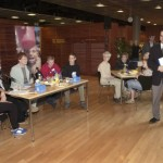 MLL ja Plan Suomi Säätiö järjestivät yhteisen lasten erityisistunnon toukokuussa 2003. Tapahtumassa käsiteltiin YK:n lapsen oikeuksien sopimusta.